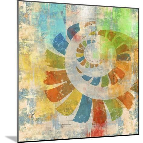Graphic Abstract 3-Greg Simanson-Mounted Giclee Print