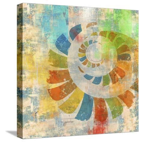 Graphic Abstract 3-Greg Simanson-Stretched Canvas Print