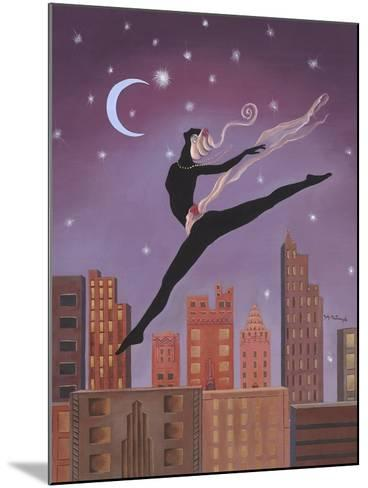 Art Deco Leap-Judy Mastrangelo-Mounted Giclee Print