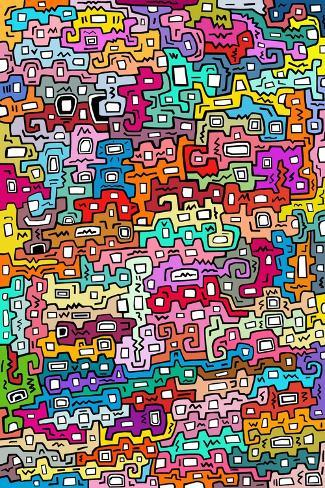 Life 2-Miguel Balb?s-Stretched Canvas Print