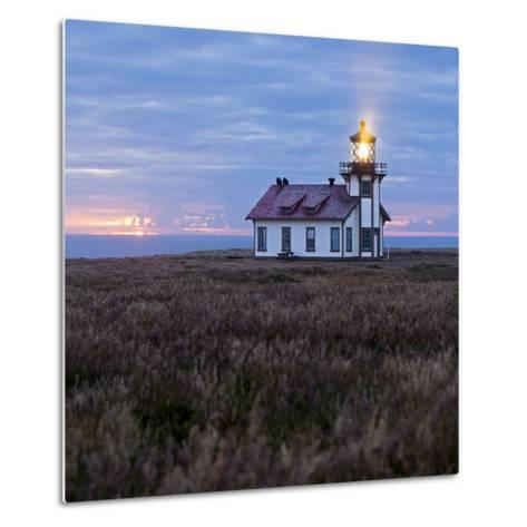 Point Cabrillo Light Station-Lance Kuehne-Metal Print