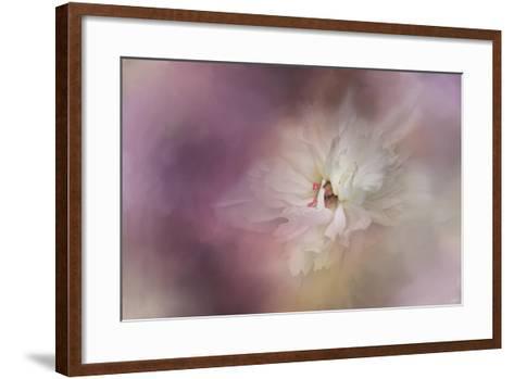 White Peony 1-Jai Johnson-Framed Art Print