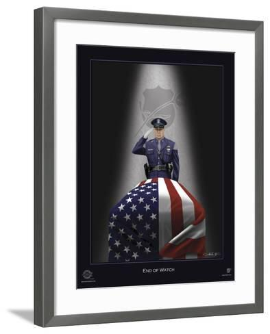 End of Watch-Marc Wolfe-Framed Art Print