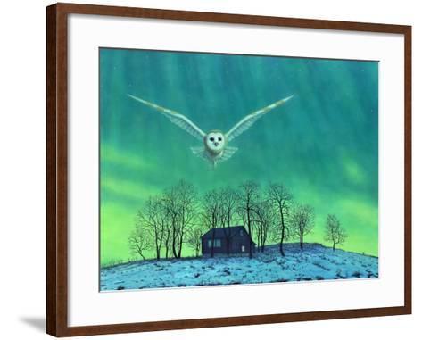 Cabin Comfort-James W. Johnson-Framed Art Print