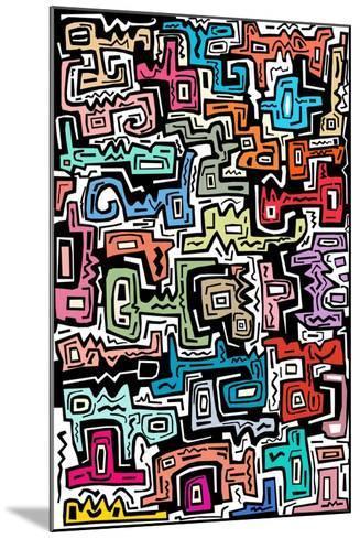 Abstract II-Miguel Balb?s-Mounted Giclee Print
