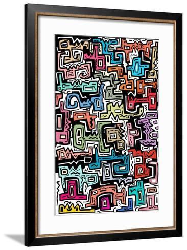 Abstract II-Miguel Balb?s-Framed Art Print