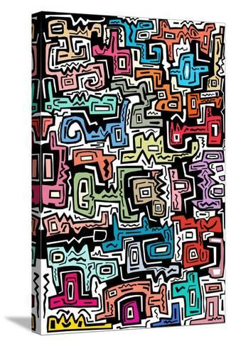 Abstract II-Miguel Balb?s-Stretched Canvas Print