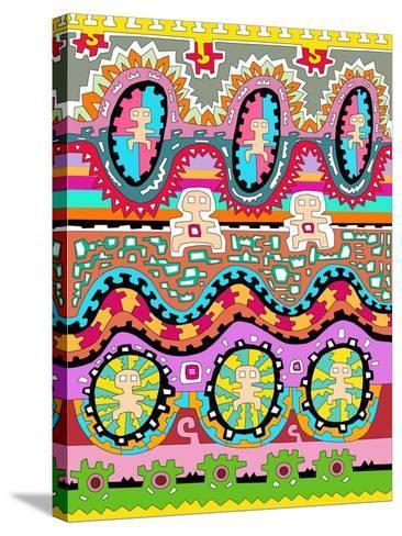 Men 1-Miguel Balb?s-Stretched Canvas Print