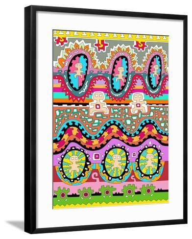 Men 1-Miguel Balb?s-Framed Art Print