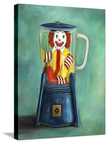 Fastfood Nightmare 2-Leah Saulnier-Stretched Canvas Print