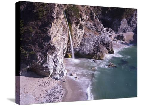 Waterfall Beach 2-Moises Levy-Stretched Canvas Print