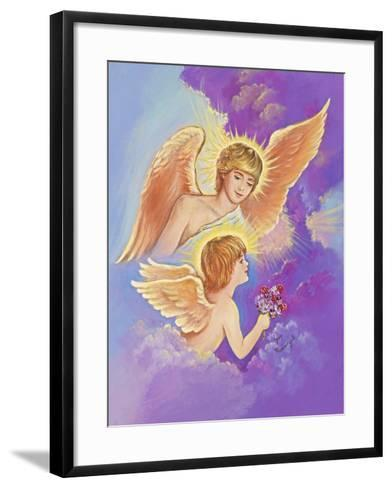 Two Angels-Judy Mastrangelo-Framed Art Print