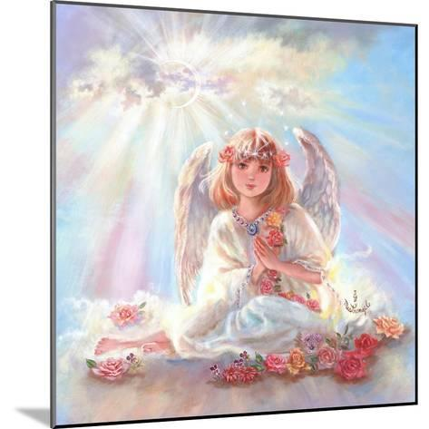 Girl Angel on Cloud-Judy Mastrangelo-Mounted Giclee Print