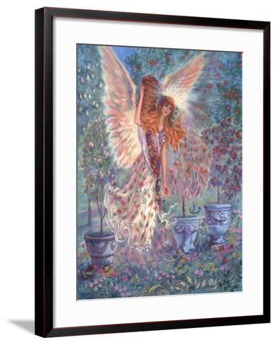 Autumn Angel-Judy Mastrangelo-Framed Art Print