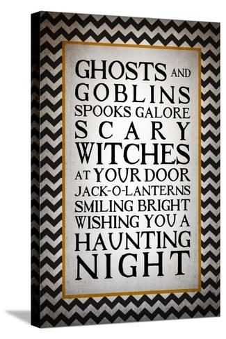 Haunting Night-Kimberly Glover-Stretched Canvas Print