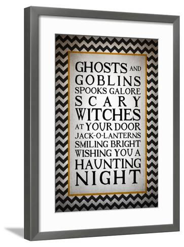 Haunting Night-Kimberly Glover-Framed Art Print