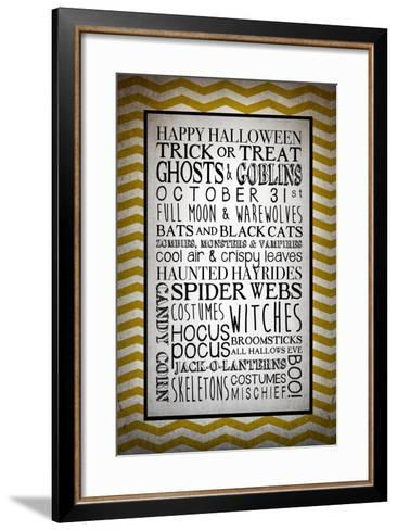 Words of October-Kimberly Glover-Framed Art Print