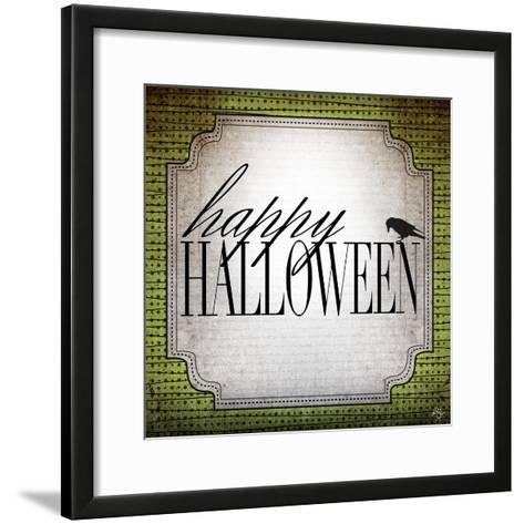 Happy Halloween-Kimberly Glover-Framed Art Print