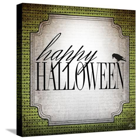 Happy Halloween-Kimberly Glover-Stretched Canvas Print