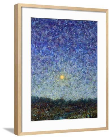 Cornbread Moon-James W. Johnson-Framed Art Print