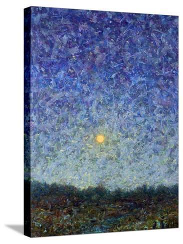 Cornbread Moon-James W. Johnson-Stretched Canvas Print