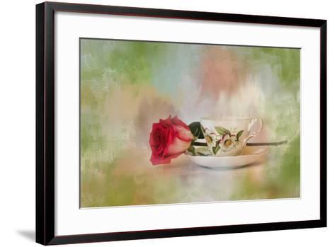 Christmas Rose-Jai Johnson-Framed Art Print