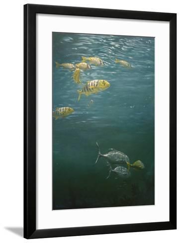 Fishes-Michael Jackson-Framed Art Print