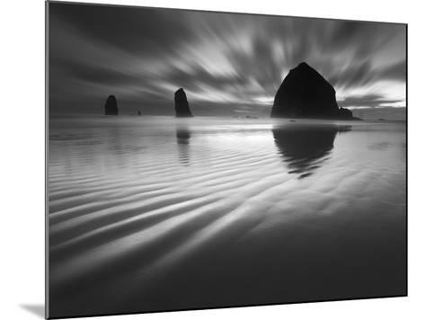 Cannon Beach Textures-1-Moises Levy-Mounted Photographic Print
