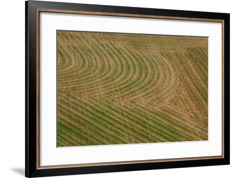 Abstract Air 1-1-Moises Levy-Framed Art Print