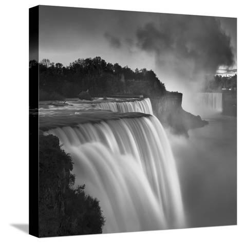 US Niagara Falls-1-Moises Levy-Stretched Canvas Print