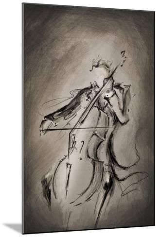 The Cellist-Marc Allante-Mounted Giclee Print
