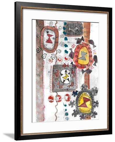 Summer I-Miguel Balb?s-Framed Art Print