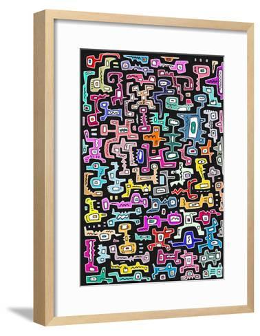 Puzzle II-Miguel Balb?s-Framed Art Print