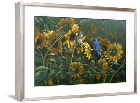 Sunflowers-Michael Jackson-Framed Art Print