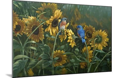 Sunflowers-Michael Jackson-Mounted Giclee Print