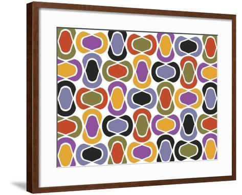 Geo 1 A-Mindy Howard-Framed Art Print