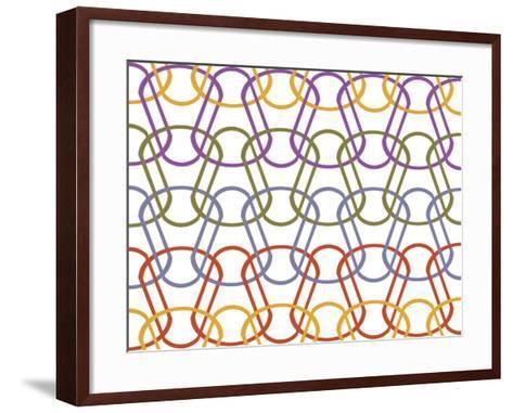 Geo 1 C-Mindy Howard-Framed Art Print
