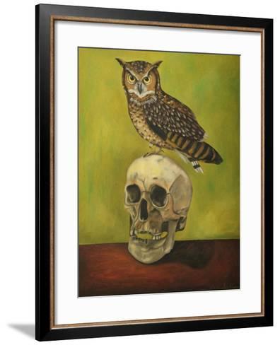 Just Bones 2-Leah Saulnier-Framed Art Print