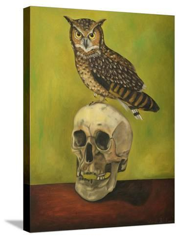Just Bones 2-Leah Saulnier-Stretched Canvas Print