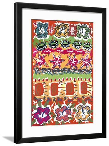 Summer IX-Miguel Balb?s-Framed Art Print