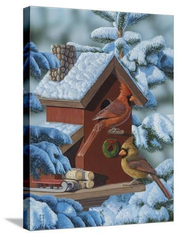Christmas Cards-Jeffrey Hoff-Stretched Canvas Print