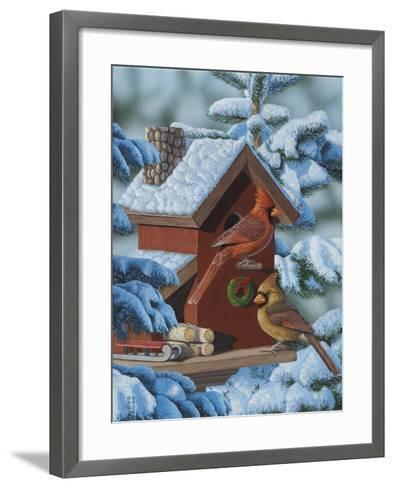 Christmas Cards-Jeffrey Hoff-Framed Art Print