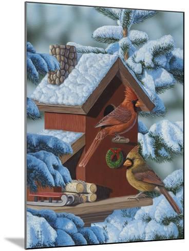 Christmas Cards-Jeffrey Hoff-Mounted Giclee Print