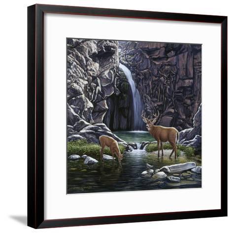 Sheltered Cove-John Van Straalen-Framed Art Print