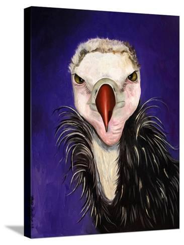 Baby Vulture-Leah Saulnier-Stretched Canvas Print