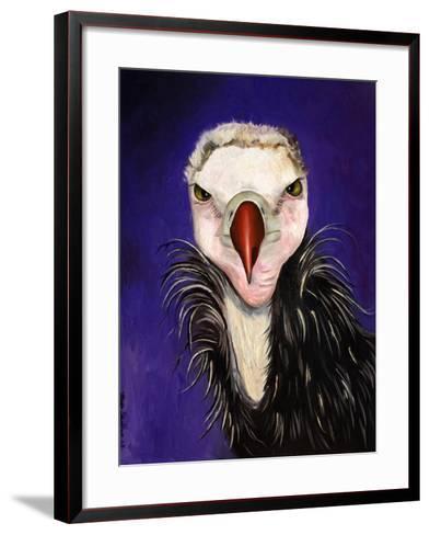 Baby Vulture-Leah Saulnier-Framed Art Print
