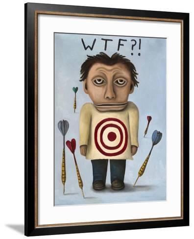 WTF 2-Leah Saulnier-Framed Art Print