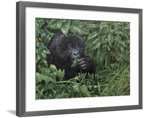 Gorilla 1-Michael Jackson-Framed Art Print