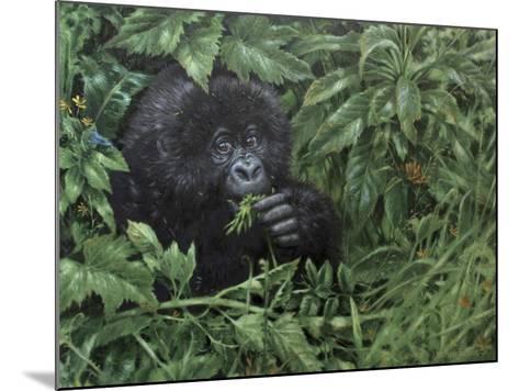 Gorilla 1-Michael Jackson-Mounted Giclee Print
