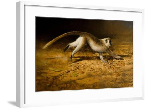 Catch Me If You Can-Michael Jackson-Framed Art Print